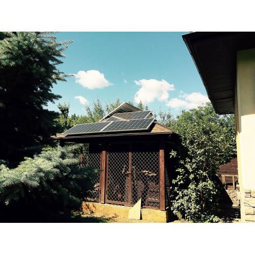 Гібридна сонячна електростанція потужністю 15 кВт смт. Коцюбинське