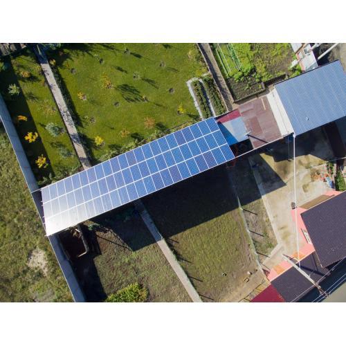Комплексное решение для клиента гибридная солнечная электростанция 10,8 кВт +  сетевая 10 кВт, зелёный тариф