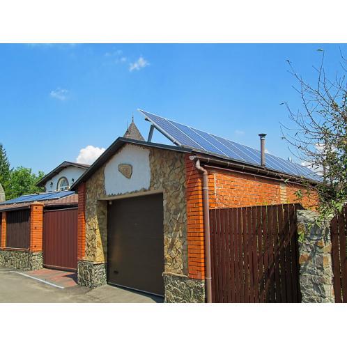 Гібридна сонячна електростанція потужністю 8,2 кВт, с.Подгірці