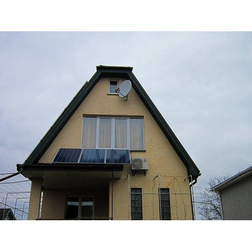 Гибридная солнечная система с функцией поддержки сети