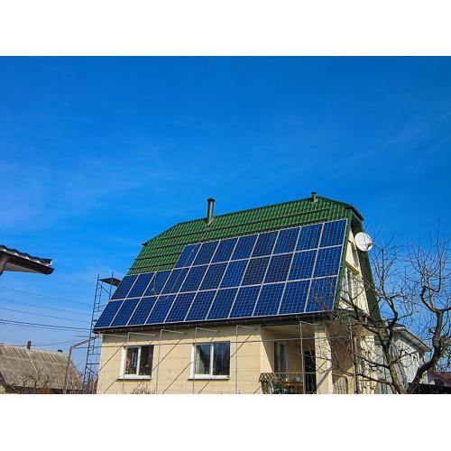 Гібридна сонячна система з функцією підтримки мережі с. Підгірці