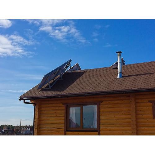 Автономна сонячна електростанція будинку на київському морі