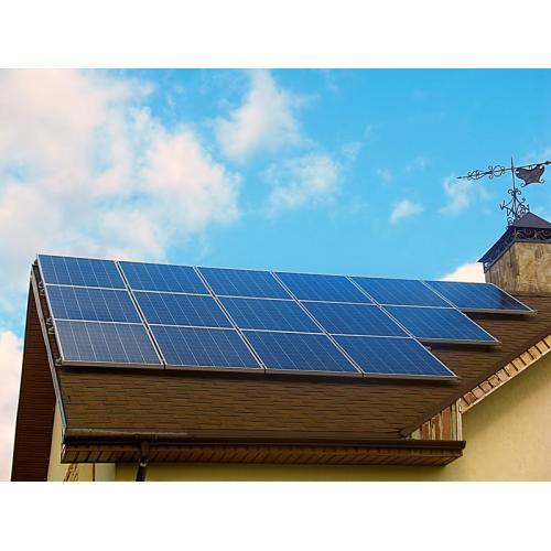Автономная солнечная электростанция установленной мощностью 3,75 кВт