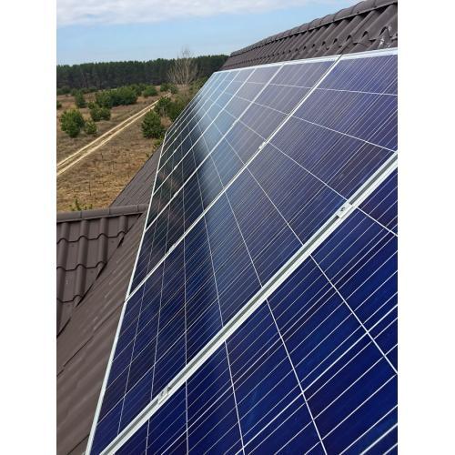 Автономная солнечная электростанция установленной мощностью 2,3 кВт