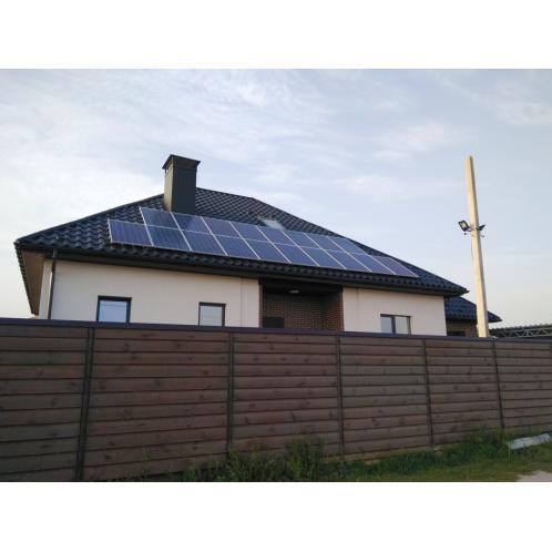 Автономна сонячна електростанція встановленою потужністю 4,6 кВт