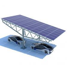 Сколько стоит Навес 5 кВт, 4,0х8,3 м