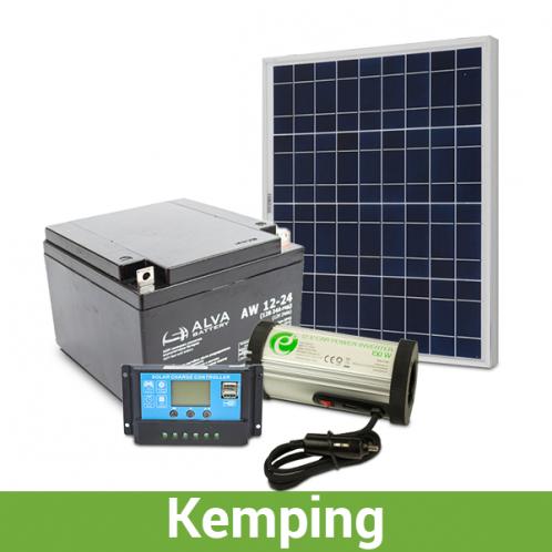 Автономна система для кемпінгу 250-300 Вт*год за добу
