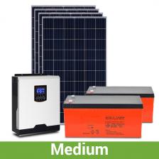 "Солнечная станция для дачи ""средняя"", 4-5 кВт*ч, 110-150 кВт*ч/месяц"