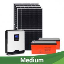 """Сколько стоит Солнечная электростанция  """"МЕДИУМ"""", 160-190 кВт*ч/месяц"""