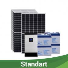 """Сколько стоит Солнечная электростанция """"СТАНДАРТ"""" для дома 250-290 кВт*ч/месяц"""