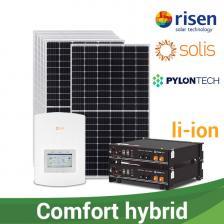 """Скільки коштує Гібридна сонячна електростанція """"КОМФОРТ ГІБРИД"""", 650-780 кВт*г/місяць"""