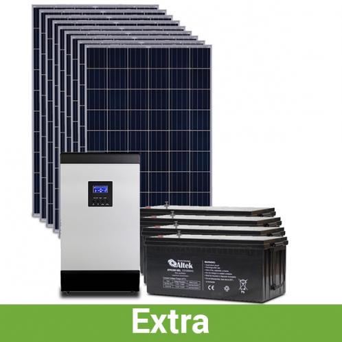 """Солнечная станция для дома """"расширенная"""", 10-11 кВт*ч в день, 240-360 кВт*ч/месяц"""