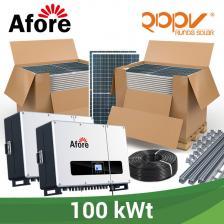 Скільки коштує Мережева станція 100 кВт під власне споживання на дах.