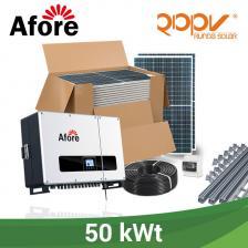 Скільки коштує Мережева станція 50 кВт під власне споживання на дах.