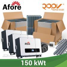 Скільки коштує Мережева станція 150 кВт під власне споживання на дах.