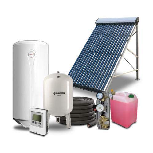 Геліосистема для гарячого водопостачання на 80 літрів