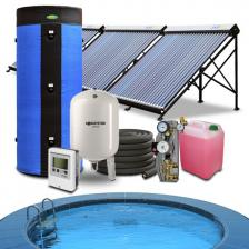 Скільки коштує Геліосистема підігріву басейну 40-50 куб.м. і гарячого водопостачання на 300 літрів