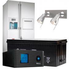 Сколько стоит Бесперебойное питание дома(холодильник, освещение/ 24 часа работы)