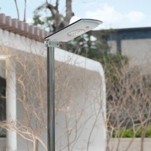 Вуличний ліхтар на сонячній батареї J601-2W