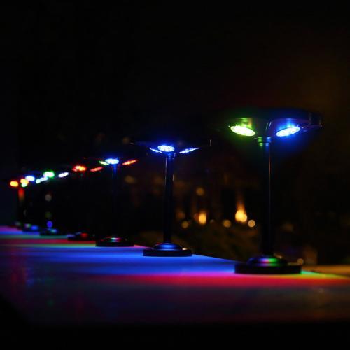Садовий ліхтар на сонячній батареї «Lucky flower» 1W