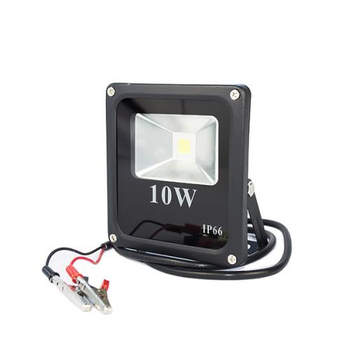 LED прожектор MAX-000-2 10W-6400K, для постійного струму 12 вольт