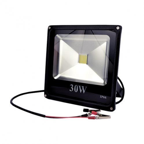 LED прожектор MAX-000-3 30W-6400K, для постійного струму 12 вольт