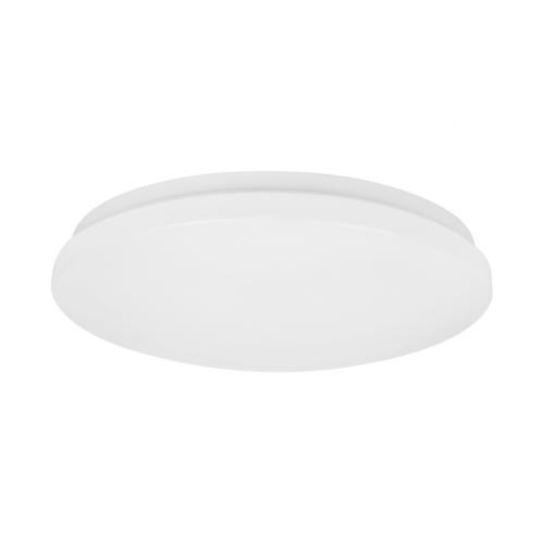 Світильник стельовий Maxus 40W яскраве світло, круглий білий (1-FCL-006-C)