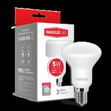 Сколько стоит LED лампа MAXUS R50 5W яркий свет E14 (1-LED-554)