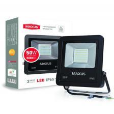 LED Прожектор MAXUS 50W, 5000K