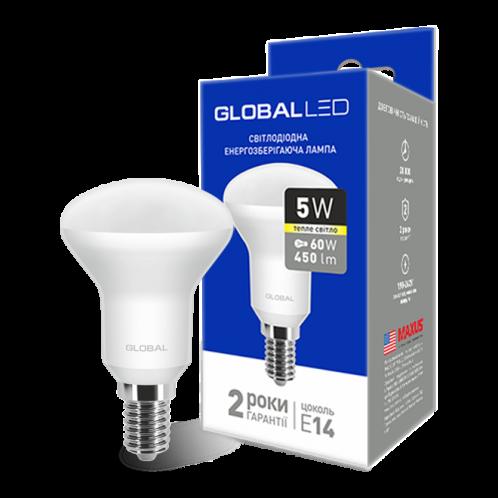GLOBAL R50 F 5W мягкий свет 220V E14 (1-GBL-153)