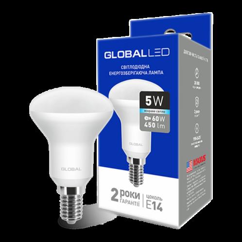 GLOBAL R50 F 5W яскраве світло 220V E14 (1-GBL-154)