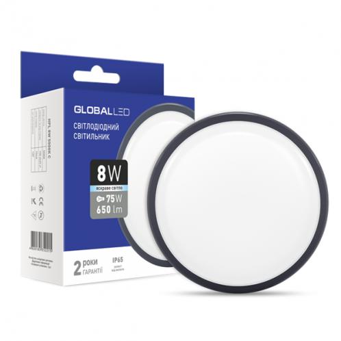 LED світильник GLOBAL HPL 12W 5000K C (1-HPL-003-C)