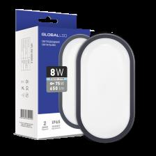 Сколько стоит LED светильник GLOBAL HPL 8W 5000K E (1-HPL-002-E)