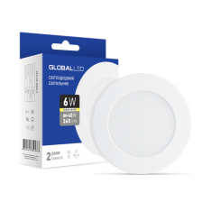 Скільки коштує LED світильник Global SPN 6W тепле світло (1-SPN-003-С)