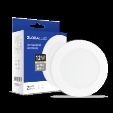 Скільки коштує LED світильник Global SPN 12W тепле світло (1-SPN-007-С)