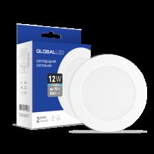 Скільки коштує LED світильник Global SPN 12W яскраве світло (1-SPN-008-С)