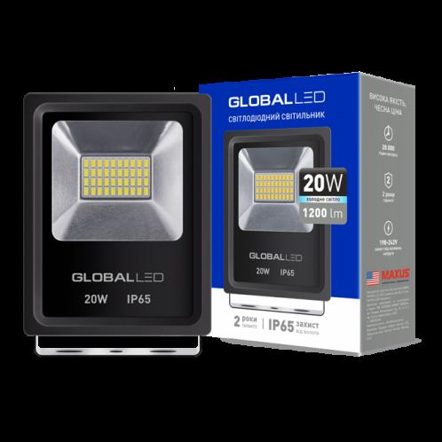 Прожектор LED GLOBAL FLOOD LIGHT 20W 5000K (1-LFL-002)