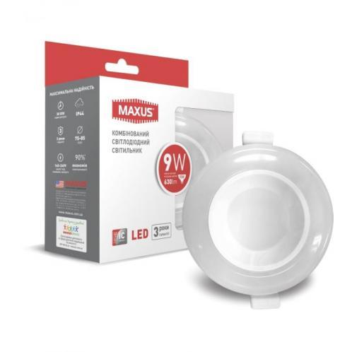 Точковий LED-світильник MAXUS SDL 3-step