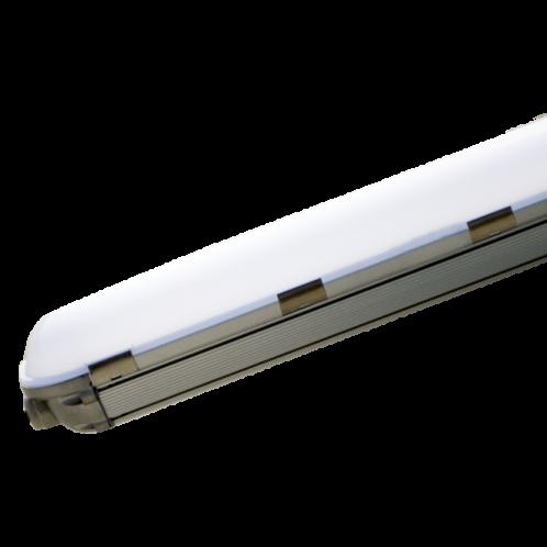 Світильник лінійний 1500мм, 50Вт, 4500Лм, 5000К, IP65 пластик