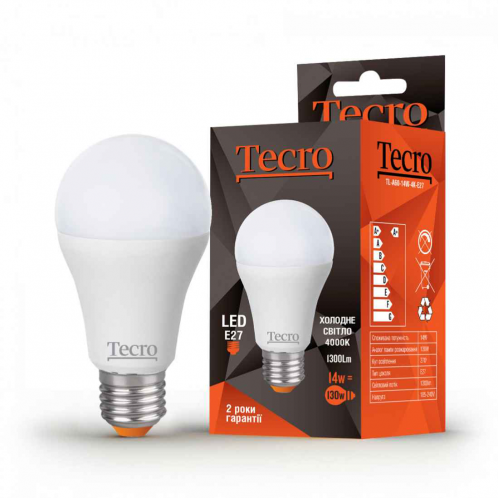 Tecro PRO-A60-9W-3K-E27