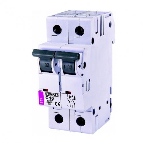 Автоматичний вимикач ETIMAT 6 2p C10