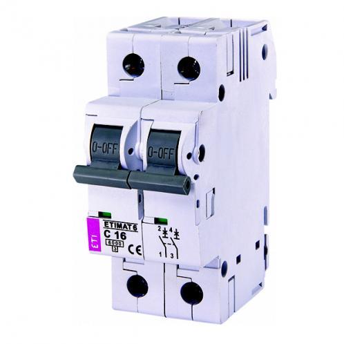 Автоматический выключатель ETIMAT 6 2p C16