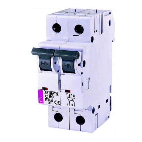 Автоматичний вимикач ETIMAT 6 2p C50