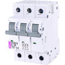 Сколько стоит Автоматический выключатель ETIMAT 6 3p C16
