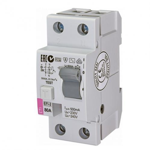 Диференційне реле EFI-2 AC 80/0.5