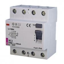 Дифференциальное реле EFI-4 AC 100/0.1