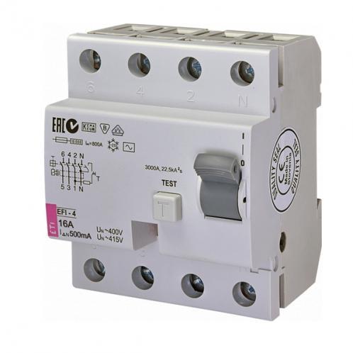 Диференційне реле EFI-4 AC 16/0.5