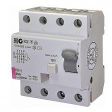 Сколько стоит Дифференциальное реле EFI-4 AC 25/0.5