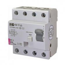 Скільки коштує Диференційне реле EFI-4 AC 40/0.1
