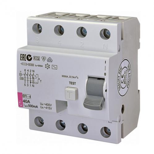 Диференційне реле EFI-4 AC 40/0.5
